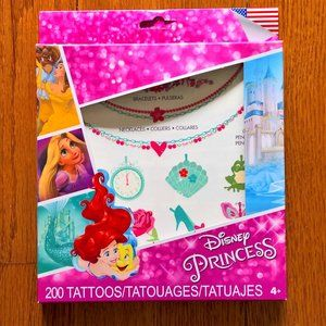 NIB Princess Tattoos set of 200